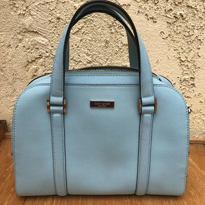 Authentic Kate Spade Small Felix GraceBlue Handbag
